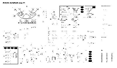 Схема электрооборудования скутеров Aprilia Area 51