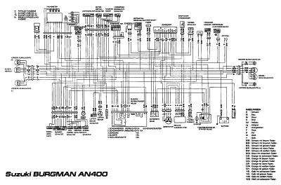 Схема электрооборудования автомобиля suzuki схемы усилителей
